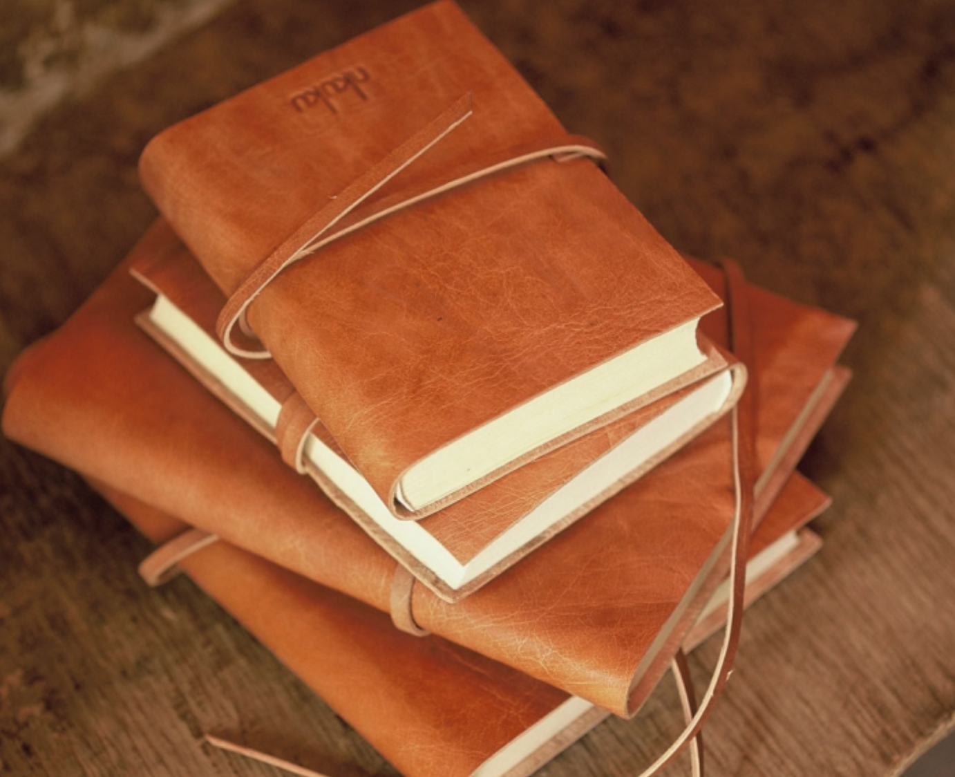 Rustic Leather Journal - Tanned - A5