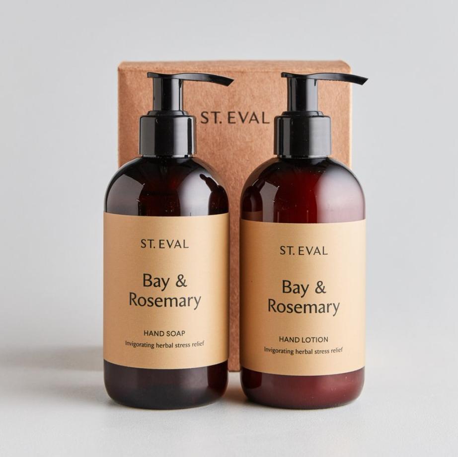 Hand Wash & Lotion Gift Set - Bay & Rosemary