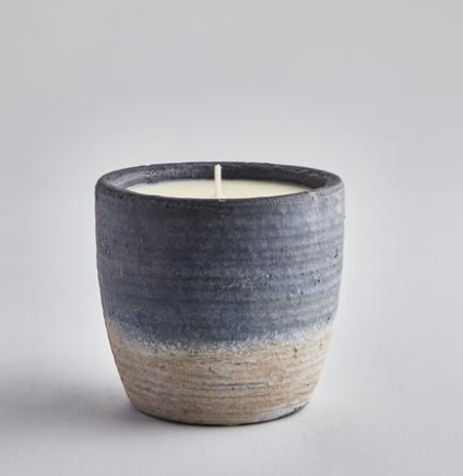Coastal Candle Pot - Samphire & Sage
