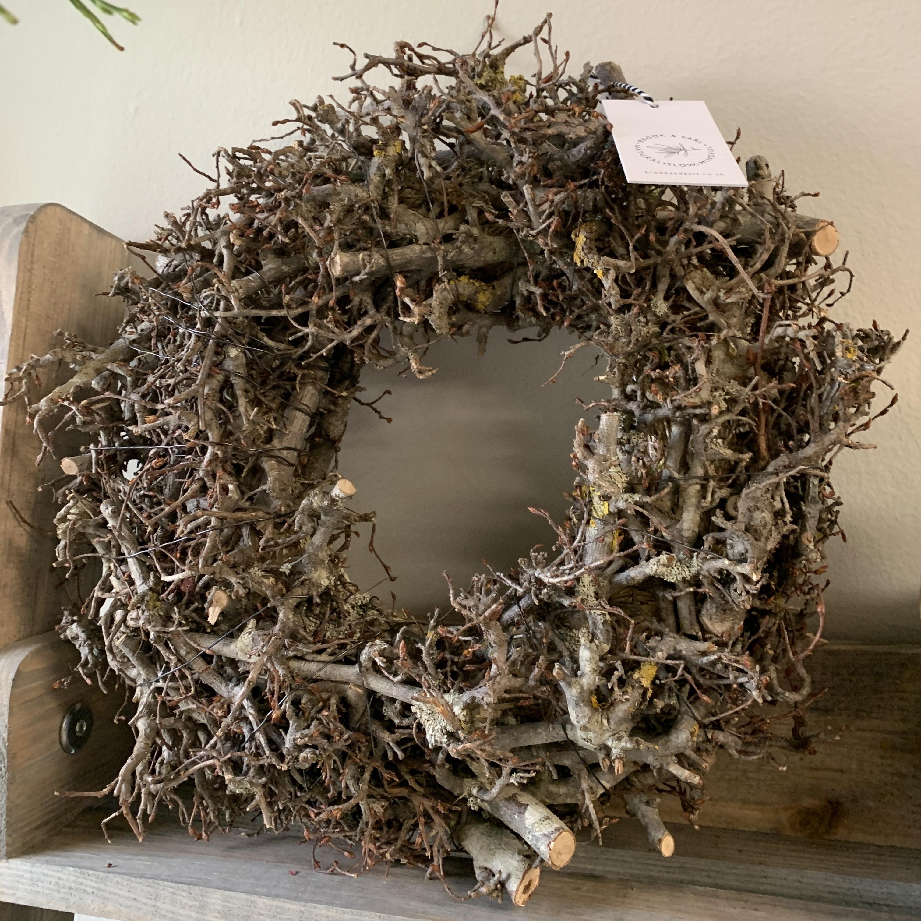 Small Twiggy Wreath
