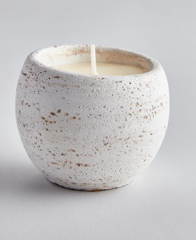 The Secret Garden Candle Pot - Bay & Rosemary