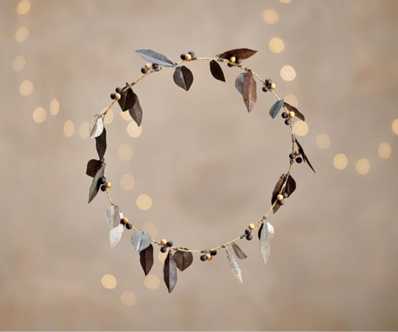Tula Wreath - Deep Brass