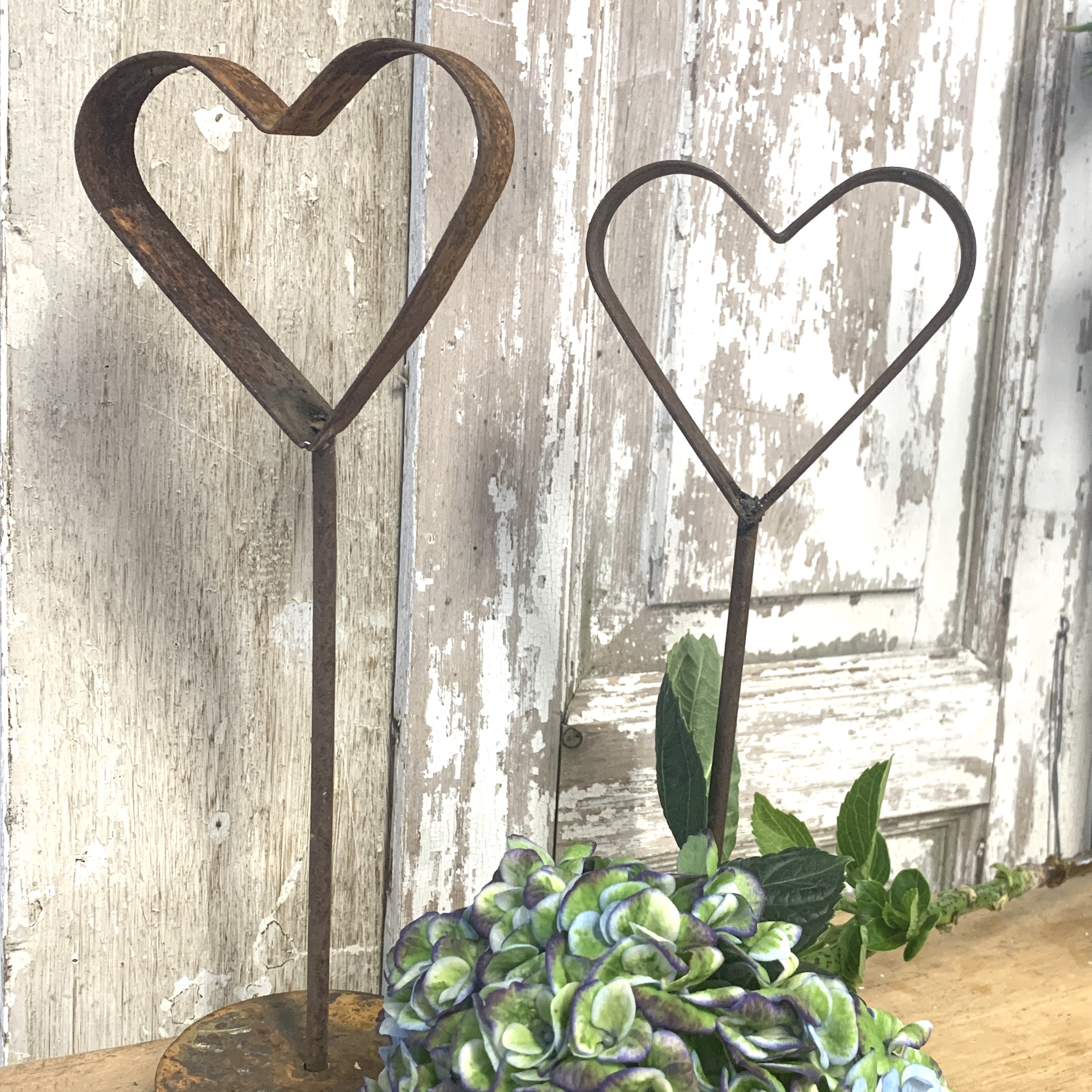 Metal Heart Table Decoration