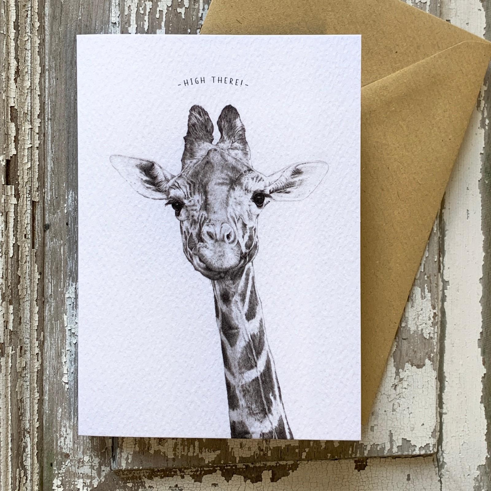 Hi There - Greetings Card